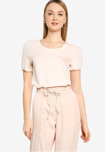 GAP beige Organic Cotton Graphic T-Shirt 9A5F4AAA404776GS_1