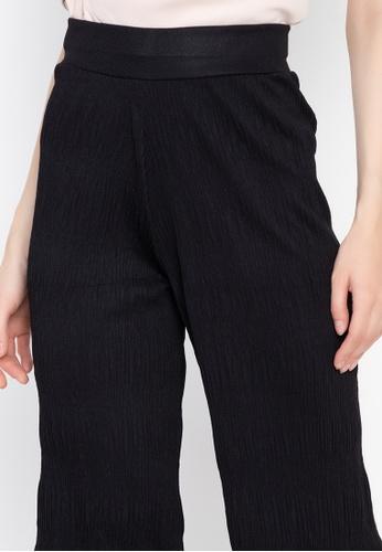 e6d77361b14551 Shop Huxley Crumpled Semi Flare Square Pants Online on ZALORA Philippines