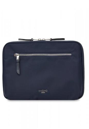 Black//Silver KNOMO Mayfair Travel Wallet