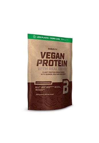 BioTechUSA Vegan Protein 500g - Coffee 50A9FESC52FCF7GS_1