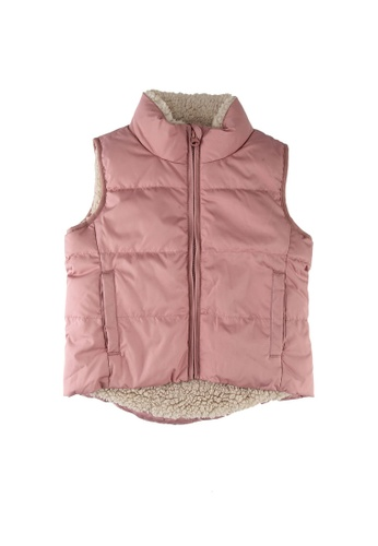 GAP pink Down Warmest Vest FAFC5KA6CC5DCAGS_1