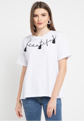 Lois Jeans white Cvc 20'S Slub T-Shirt 041BEAA97D3738GS_1
