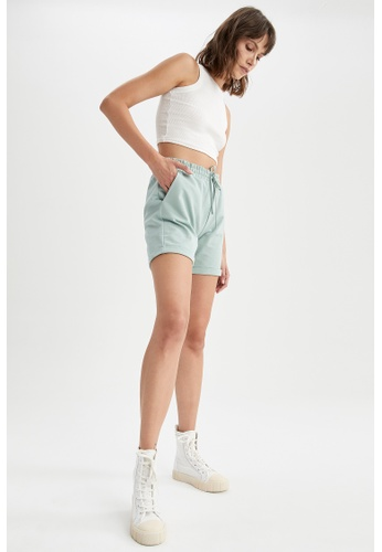 DeFacto green Lace-up Short DFE80AAC0A0953GS_1