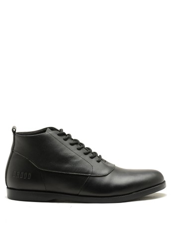 Brodo black BRODO - Sepatu Pria Sima Full Black 016A6SH7B4CBBAGS_1