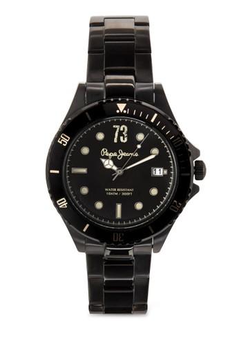 R2353esprit台灣outlet106004 Brian 三指針不銹鋼男錶, 錶類, 飾品配件