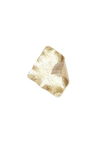 Locally Blend gold L.Blend Manika Nasi Jinggo Ring Gold/ White Crystal 2EF41AC734A1D3GS_1