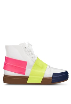 737e711f156c ... NOW RM 209.90 Sizes 5 · Melissa white and multi Melissa Crew Ad  Extended Sizing Sneakers 57D02SHC13E6E9GS 1