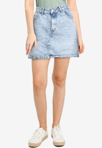 Cotton On blue The Classic Denim Skirt 9C525AA9225D80GS_1