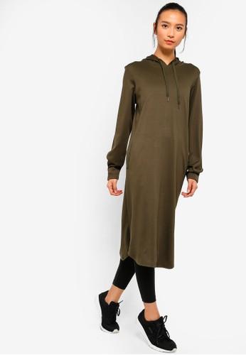 AVIVA green Long Sleeve Top A0AA6AA3C0B4E7GS_1