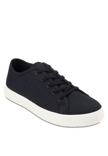 斜紋繫帶休閒鞋, esprit outlet台北鞋, 鞋