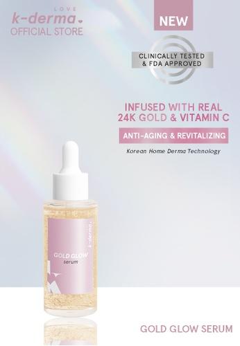 Love K-Derma pink Love K-derma: Gold Glow Serum 96469BE33F1E7CGS_1