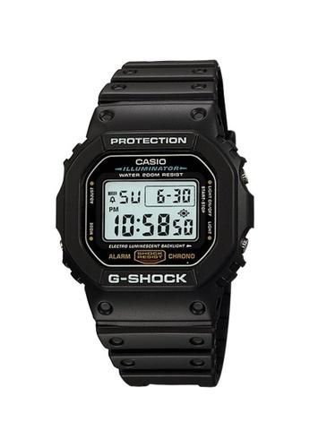 G-SHOCK black CASIO G-SHOCK DW-5600E-1V 5DFCEAC2E18334GS_1