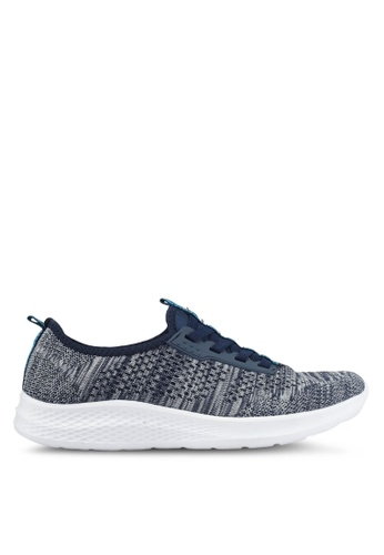 Spiffy navy Feather Weight Ladies Running Sport Shoes A4181SHCFB82BFGS_1