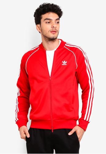 adidas red adidas originals sst tt 8B197AA4731050GS_1