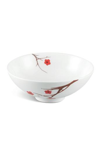 Minh Long I white Pink Ochna: Porcelain Soup Bowl (23cm) 6EBA2HL2279D5CGS_1