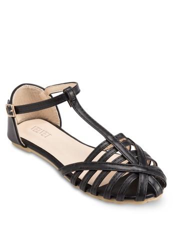 Dede 繫帶鏤空鞋頭平底鞋,esprit手錶專櫃 女鞋, 鞋