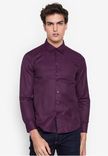 Lifestyle by Attitudes purple Nathan Shirt 4B9AAAA626B8E5GS_1