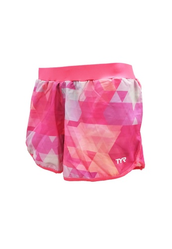 TYR pink TYR Geometric Shorts 57081AA66FBD0AGS_1