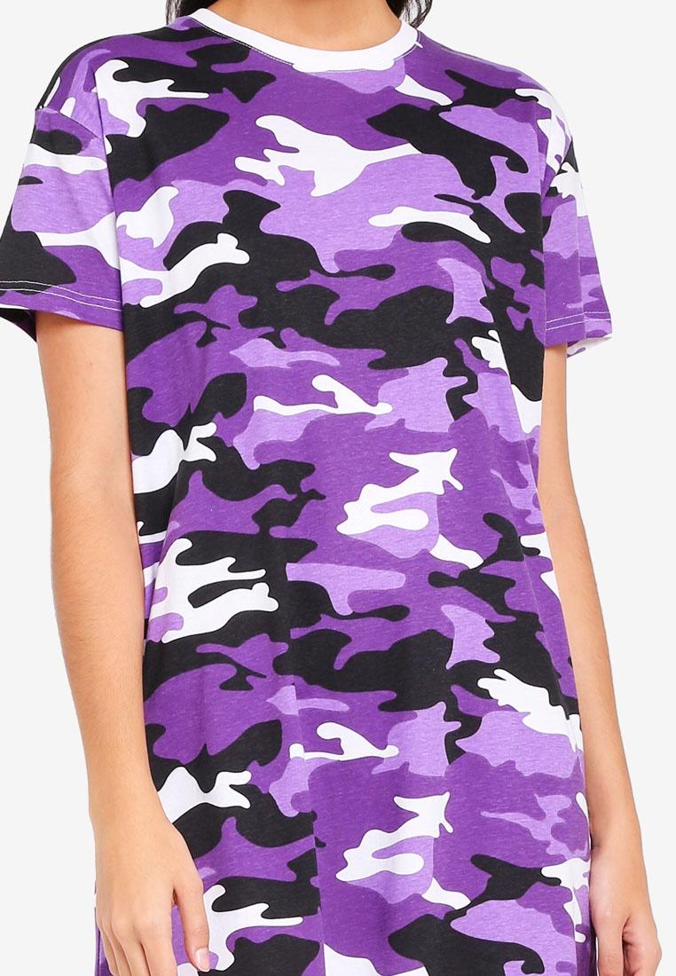 Peace Purple shirt Dress Factorie T Keeper Camo xtq0dgqnY