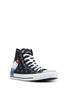55b27a9bc71 34% OFF Converse Chuck Taylor All Star 70 Hello Kitty Hi Sneakers S  99.90  NOW S  65.90 Sizes 4 · Converse black and white ...