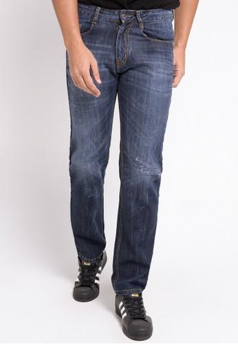 Jimmy Martin blue Celana Panjang Denim Premium 593BAAAFCBC15DGS_1