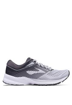 9712e970e7a52 Brooks grey Launch 5 Shoes 36BE3SH6D7666AGS 1