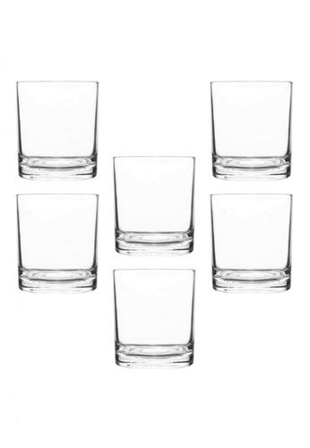 Union Glass n/a Thailand Premium Clear Glass Rock Glass Water, Juice, Soda, Liquor Glass 286ml -10oz Set of 6 1BAADHLCF02F86GS_1