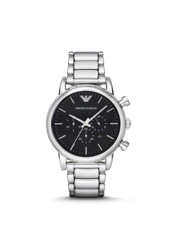 Emporio Armani LUIesprit 尺寸GI休閒系列腕錶 AR1894, 錶類, 休閒型