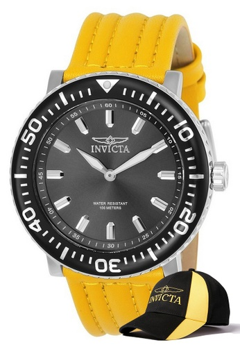 INVICTA silver Invicta I-Force Men 48mm Case Stainless Steel Stainless Steel Strap Stainless Steel Dial Quartz Watch 24041 w/ Cap 21EF2AC0B2368CGS_1