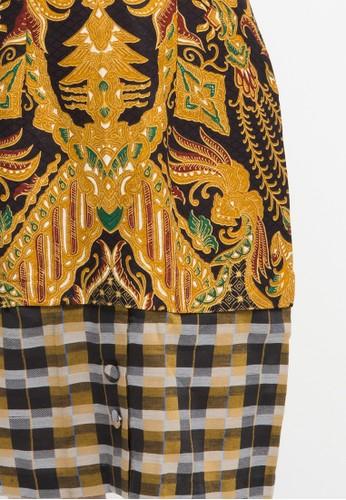 jual batik semar lalun dress db 45 rfp luhur pangestu kc