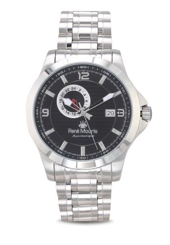 René Mouris silver Cygnus - 46mm Automatic Watch 8E78FACEBF99BBGS_1