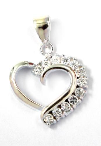 Venice Jewelry silver Precious Heart Pendant VE564AC84ZLJPH_1
