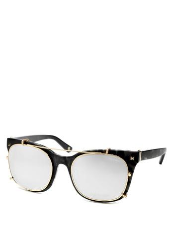 HEX EYEWEAR black Model - Derek Z. - Optical with Clip-on - Italy Design HE671AC2V1JJHK_1