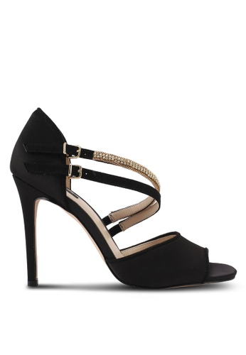 ZALORA black Bejewelled Detail High Heels 73332SH445BED5GS_1
