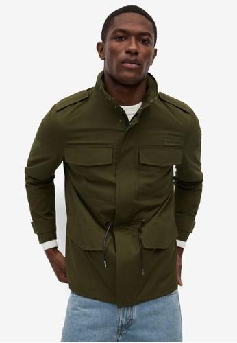 MANGO Man green Pockets Cotton Field Jacket 7C243AA623C97AGS_1