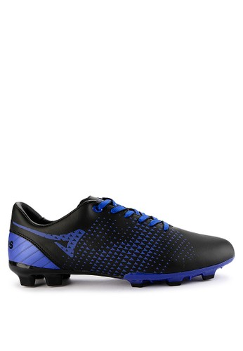 Ardiles black and blue Men Mission Soccer Shoes 535B1SHCA4707AGS_1