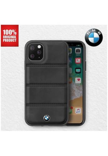 "BMW black BMW - Leather Case Horizontal Lines - Casing iPhone 11 Pro 5.8"" - Black 9E149ES082783EGS_1"