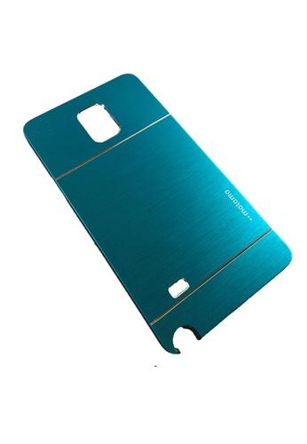 low priced 69e3e d426d Aluminum Metal Case for Samsung Galaxy Note 4 (Aqua) N9100
