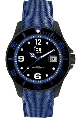 Ice-Watch blue ICE steel - Black blue - Large - 3H 826DCACF5F0A20GS_1