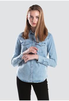 aa30cb608d2 Levi s blue Levi s Ultimate Western Shirt Women 58930-0010  197EBAA0AA757FGS 1