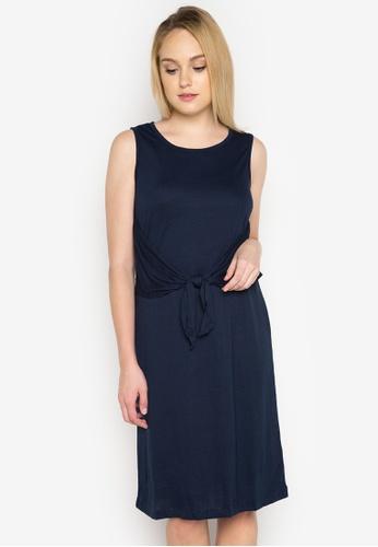 Joe Fresh blue Knot Front Dress JO088AA0INT5PH_1