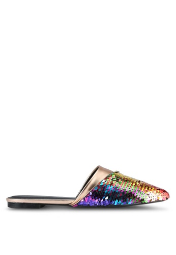Something Borrowed multi Sequin Slip On Flats 2645CSH92EA6A2GS_1