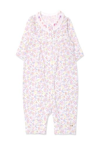 Organic mom purple Organic Cotton Betty Floral Onsie 63CA8KA31B9004GS_1