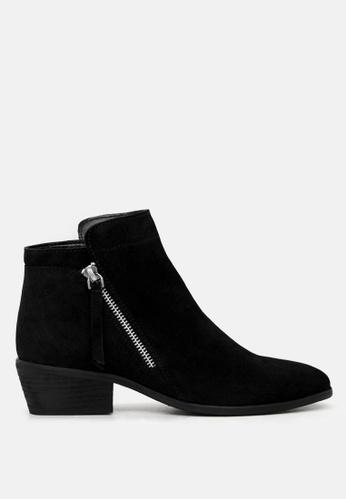 RAG & CO 黑色 皮短靴 5C6F7SHF8741EFGS_1