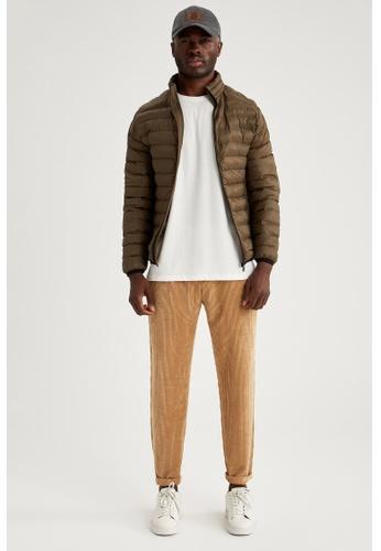 DeFacto brown Man Woven Trouser 4F7B3AAA716931GS_1