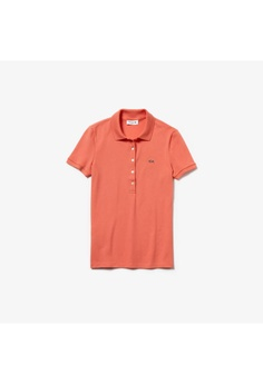 be15b81c00 Lacoste Women's Lacoste Slim Fit Stretch Mini Cotton Piqué Polo Shirt -  PF7845-10 S$ 696.87. Sizes 34