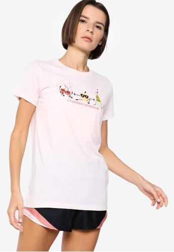 Under Armour 紅色 UA Summer Graphic Short Sleeve T-Shirt 3B89DAAB33B8C3GS_1
