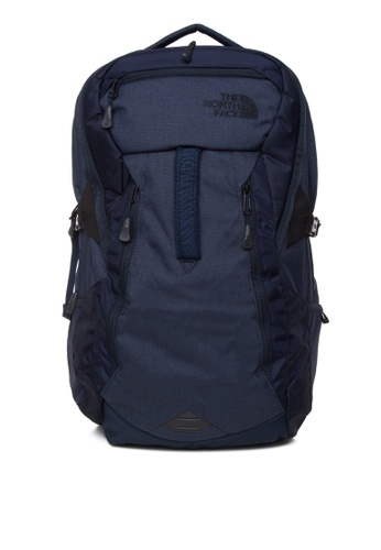 The North Face navy Router Backpack TH803AC0J2V6PH_1