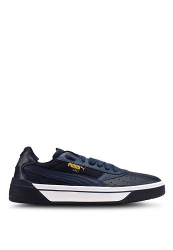 Puma navy Sportstyle Prime Cali-0 Shoes 1C789SHC42C14DGS_1