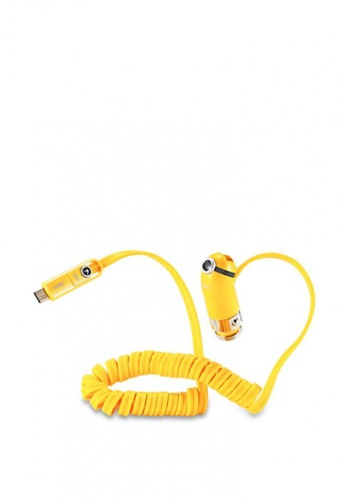 Stylebox yellow REMAX RCC211 5V 2.4A Output Smart Cutie Car Charger 28D55AC12FBAD1GS_1